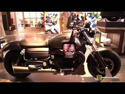 2015 Moto Guzzi Audace - Walkaround - 2014 EICMA Milano Motocycle Exhibition