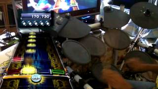 ROCK BAND 3 CUSTOM - ARCTIC MONKEYS The View from the Afternoon Expert PRO Drums FC