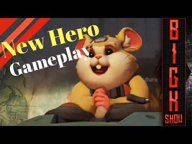 Overwatch New Hero: Hammond aka Wrecking Ball Gameplay and Abilities
