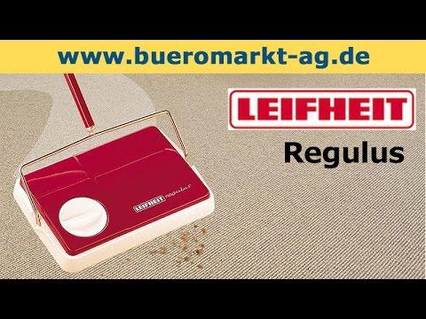 Leifheit Regulus Teppichkehrer