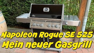 Napoleon ROGUE SE 525 - Neuer Gasgrill - Grillvorstellung 2020er Modell