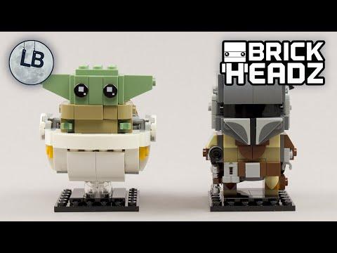 Vidéo LEGO BrickHeadz 75317 : Le Mandalorien et l'Enfant (Star Wars)