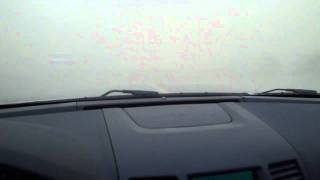 preview picture of video 'Kuwait Sand Storm 04/04/2011 - Wafra Road 306 - JO Admin Road 1'