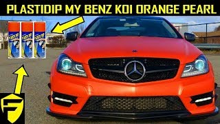 MY BENZ INSPIRED BY DIPYOURCAR.COM Plasti Dip Your Car   The Complete Guide