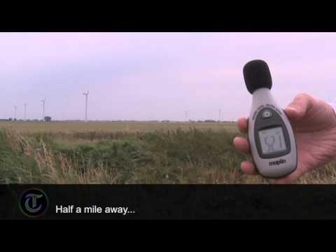 Are Wind Farms Noisy?
