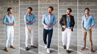 How To Style ONE Denim Shirt In FIVE Looks!