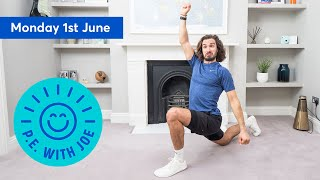 PE With Joe | Monday 1st June