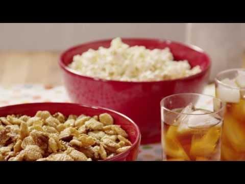 How to Make Caramel Snack Mix | Snack Recipe | Allrecipes.com