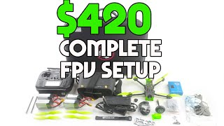 Everything you need to start Drone racing in one package
