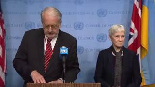 Inquiry on Syria - Security Council Stakeout (21 April 2017)