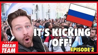 RORY IN RUSSIA VLOG - EPISODE TWO | Feat. Alan Shearer