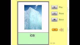 Audio Flashcards for Kids - Nature