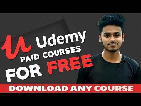 Get Udemy Paid Courses For Free 2021 | How To Download Udemy Paid Courses For Free