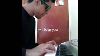 I will make a video saying his message with the piano
