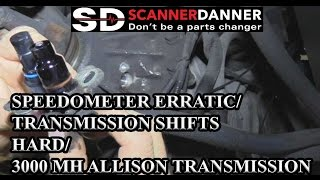 Speedometer Erratic/Transmission Shifts Hard/3000 MH Allison Transmission