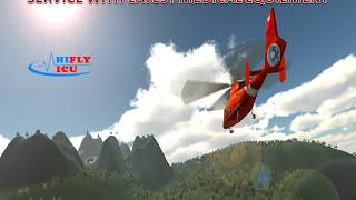 Reliable Air Ambulance Service from Allahabad to Kolkata by Hifly ICU
