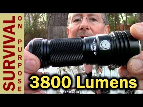 Thrunite TC20 Rechargeable 3800 Lumen Flashlight Review