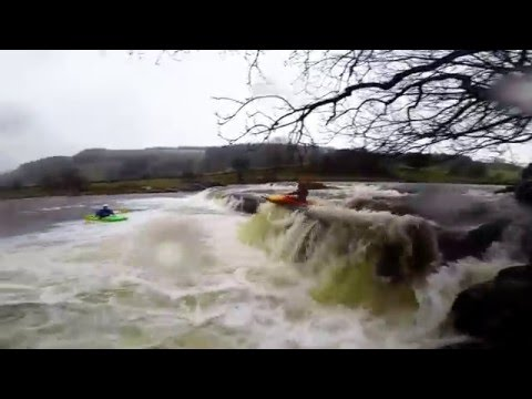 Conistone Falls Kayaking