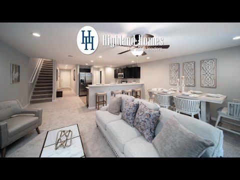 Azalea Townhome by Highland Homes - Metro Orlando New Homes for Sale