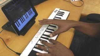 Demo of iRig KEYS - Universal portable keyboard for iPad, iPhone, iPod touch, Mac/PC