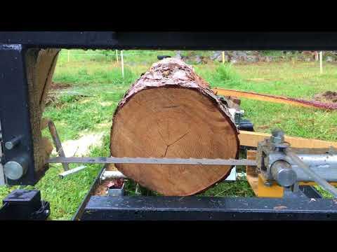 Bauholz für mehrere hundert Euro an einem Tag sägen