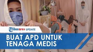 Pembuat Busana Pengantin di Purwokerto Banting Setir Buat APD untuk Diberikan ke Tenaga Medis