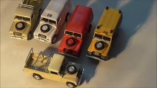 A guide to collecting Cararama  Land Rovers Ep 1