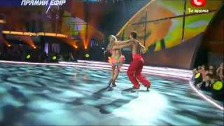 So You Think You Can Dance 2010 Ukraine - Samba!!! Choreography by Ton Greten