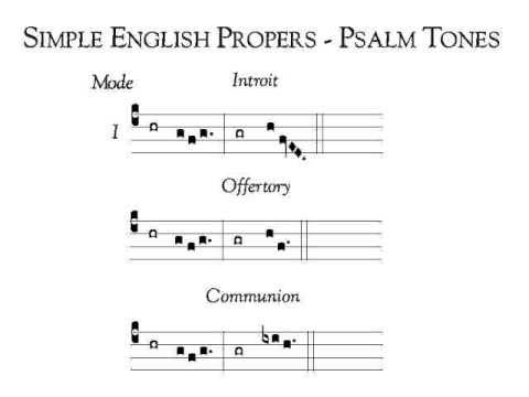 Simple English Proper (SEP) Psalm Tone VII - смотреть онлайн на Hah Life