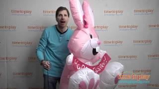 Airblown Inflatable Bunny from Gemmy