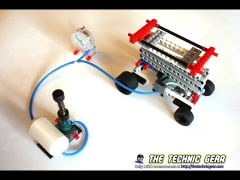 Vidéo LEGO Education 9641 : Kit Pneumatique Lego Education