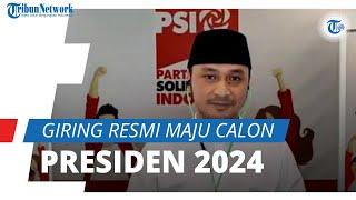 Giring Eks Nidji Resmi Maju Capres 2024 setelah Jadi Plt Ketum PSI, Gerindra: Silahkan Saja Bermimpi