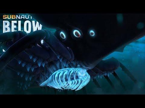THE SHADOW LEVIATHAN IS HERE! - Subnautica Below Zero - New Creatures Below.. - Below Zero Gameplay