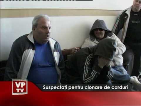 Suspectati pentru clonare de carduri