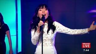 Dami Im-Sound of Silence - First TV performance since #Eurovision - Channel 7-Sunrise Australia