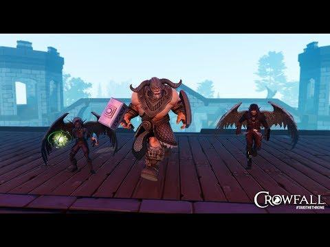 Crowfall - ArtCraft Devs Live Q&A with Zybak