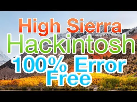How to Install macOS High Sierra on PC Without Mac | Hackintosh | No