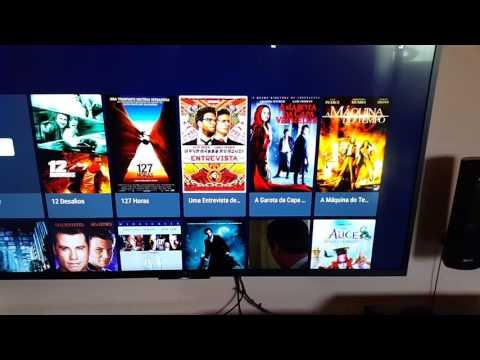 TV Sony KD55X7005D - Utilizando HD externo