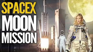 SpaceX MOON MISSION! Falcon Heavy Takes Private Tourists To Space 2018