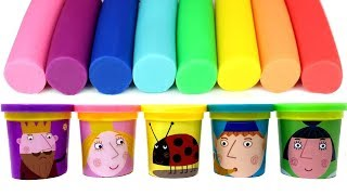 Play-Doh Ben & Holly's Little Kingdom King Thistle Queen Thistle Daisy Gaston Plum Learn Colors
