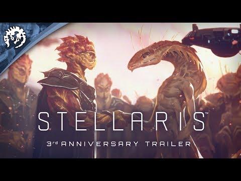 Stellaris - Three Year Anniversary Trailer - Free Weekend 9-12th of May on Steam