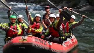 preview picture of video 'White Water Rafting in Turangi with Rafting New Zealand! GoPro Hero 3+'