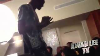 Soulja Boy & Meek Mill Bumping Trinidad James At A Party