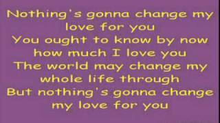 my love for you lyrics