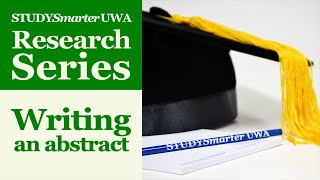 Writing an abstract for Honours and Masters theses and dissertations