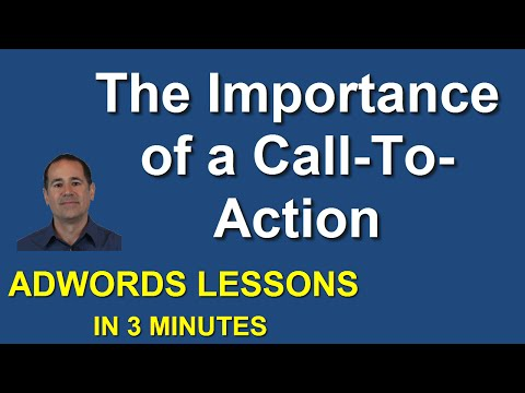 The Importance of a Call To Action