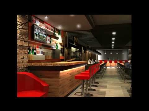 Trendy Steak House Interior Design