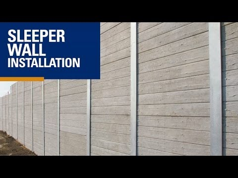 Concrete Sleeper Wall Installation - Mango Hill, Brisbane