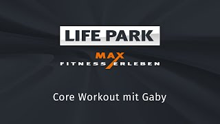 Core Workout mit Gaby