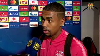 "INTER 1-1 BARÇA | Malcom: ""Mi sueño continúa"""